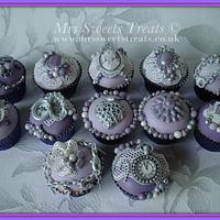 My Vintage Jewlery Collection Cupcakes by Jessica Rabicano-Sweet