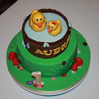 Duck cake by Reni Hendra