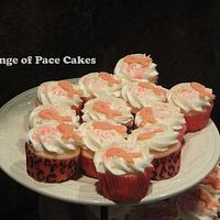 Breast Cancer Ribbon Cupcakes