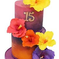 Mariah's Luau  by Hot Mama's Cakes