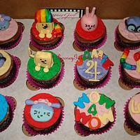 Wow Wow Wubzy Cupcakes