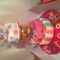 21st Sweet 3 Tier Cake with a difference!