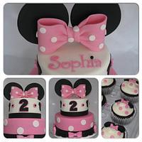 Minnie Mouse Cake by Jolirose Cake Shop