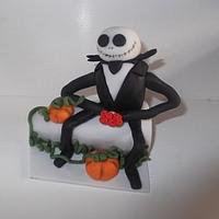 Nightmare before Christmas Cake topper
