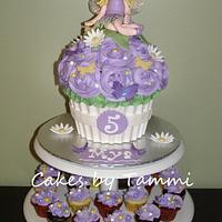 Fairy Giant Cupcake