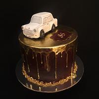 Trabant car cake