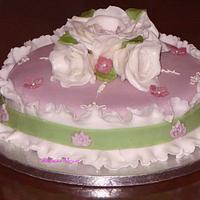 Birthday cake by Filomena