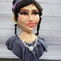 New bust cake - Janice