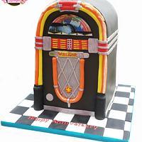 Wurlitzer Jukebox Cake