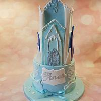 Ice queen castel cake