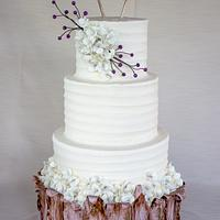 Rustic Wood and Buttercream