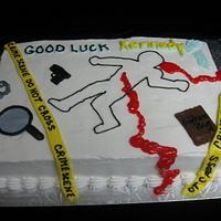 CSI Cake