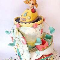 Luna park cake