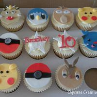 Pokemon Cupcakes by Cupcakecreations