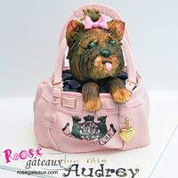 Dog in a bag Juicy Couture