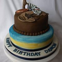 Salvador Dali Cake  by Kaylee