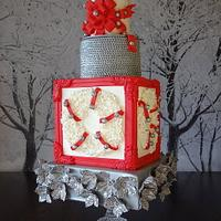 Bows and Bells Holiday Wedding - Cake Central Volume 4 Issue 12