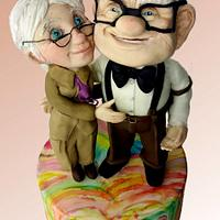 Carl and Ellie figures: Up