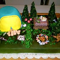 Camping cake by Random Acts of Sweetness