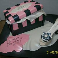 My First Shoe Cake
