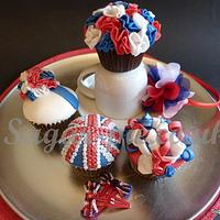 Rule Britannia Cupcake Collection
