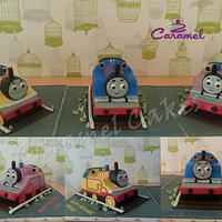 Thomas and Engines Cake