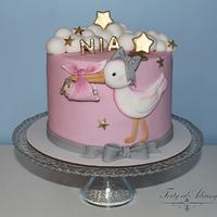 Christening cake for NIA