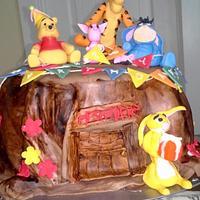 Winnie Pooh Cake