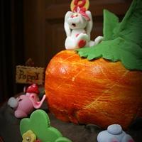 Bunnies lucky day - A Giant carrot! by Jasmine Tan PB