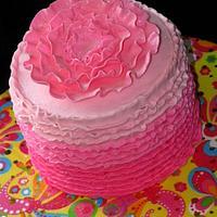 Ruffle Cake!