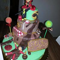 Willy Wonka's Cake
