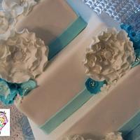 Fantasy Flower Wedding Cake