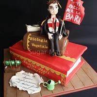 Degree in agriculture cake