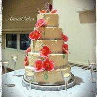 Sandra & Jose's 30th Anniversary by AnnieCakes