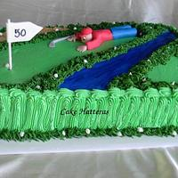 Happy 50th to a Golf Lover