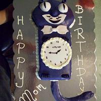 Kitty Cat Clock