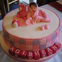My first Christening cake