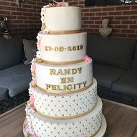 First Weddingcake ever