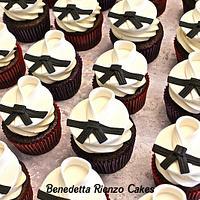 Tae Kwon Do Black Belt Cupcakes