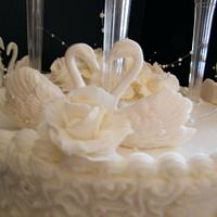 50th Anniversary Cake by Judy Remaly