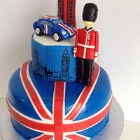 British Love Cake