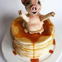 Pig in a Blanket....of Pancakes