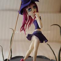 Sexy Witch Cake