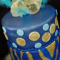 Blue & Gold Bday