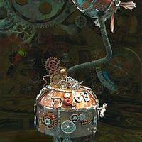 A PIPE DREAM - OR NOT!   Steam Cakes - A Steampunk Collaboration