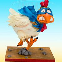 Ronny Rooster Cake by Dirk Luchtmeijer