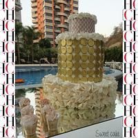 CH birthday cake