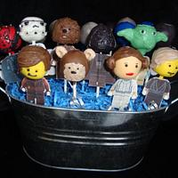 Star Wars Lego Cakepops