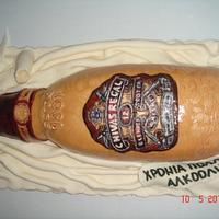 Chivas whisky cake!