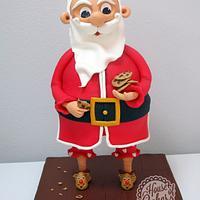 Santa 3D Cake